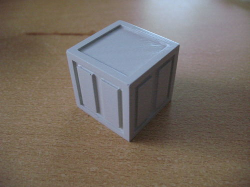 Sci-Fi Box,Transportbox 30x30x30 mm für 6 inch Figuren